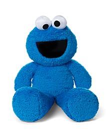 Gund Sesame Street Fuzzy Buddy Cookie Monster Plush Stuffed Animal, Blue