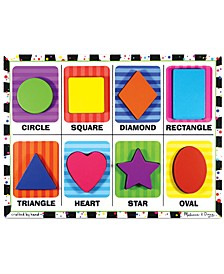 Kids Toy, Shapes Chunky Puzzle