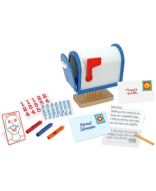 Melissa and Doug Kids Toy, My Own Mailbox Set