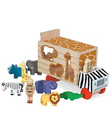 Melissa and Doug Kids Toys, Animal Rescue Shape-Sorting Truck