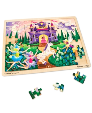 Melissa and Doug Kids Toy Fairy Fantasy 48Piece Jigsaw Puzzle
