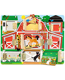 Melissa and Doug Kids Toy, Magnetic Farm Hide & Seek Board