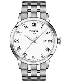 Men's Swiss Classic Dream Stainless Steel Bracelet Watch 42mm