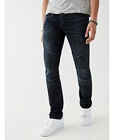 Men's Rocco Moto Skinny Fit Jeans