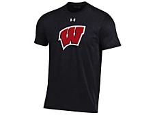 Wisconsin Badgers Men's Big Logo Performance T-Shirt