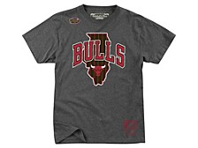 Chicago Bulls Men's State Wordmark T-Shirt