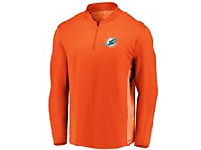Miami Dolphins Men's Clutch Modern Quarter Zip Pullover