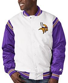 Minnesota Vikings Men's The Renegade Satin Jacket