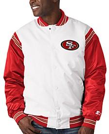 San Francisco 49ers Men's The Renegade Satin Jacket