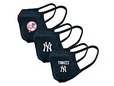"Level Wear New York Yankees 3-Pack ""Guard 2"" Face Covering"