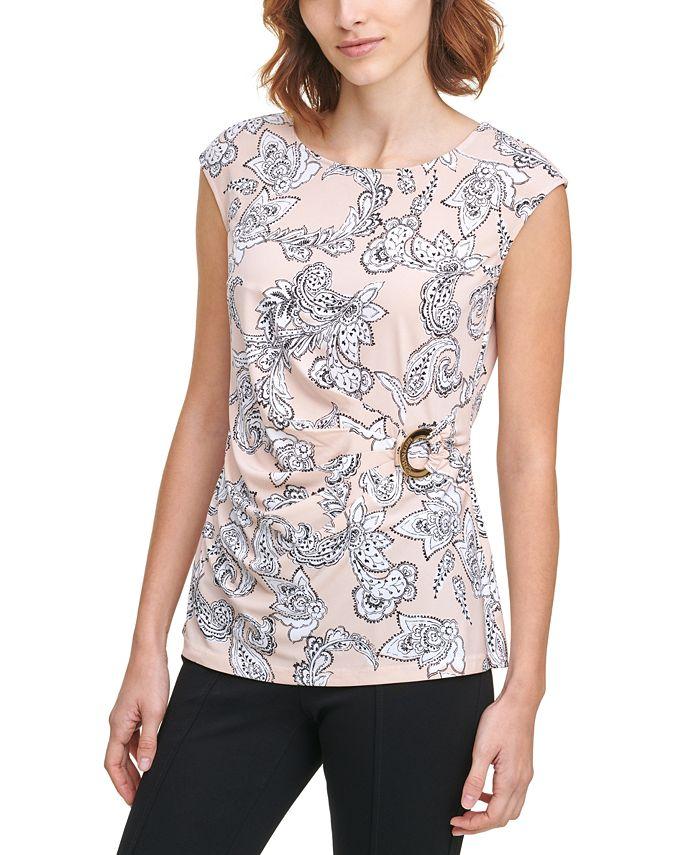 Calvin Klein - Printed Sleeveless Top