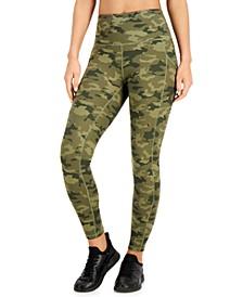 Camo Pocket 7/8 Length Leggings, Created for Macy's