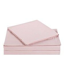 Solid Twin Sheet Set