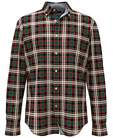 Men's Ogilvie Classic-Fit TH Flex Stretch Tartan Shirt