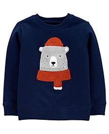 Carters Toddler Boy Bear Fleece Pullover