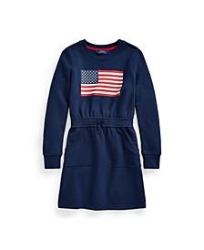 Big Girls Flag Fleece Dress