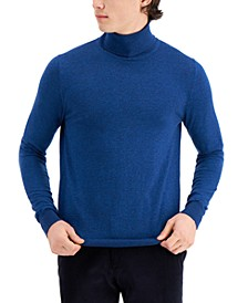 Men's Limited Edition Slim Fit Fine Gauge Turtleneck Sweater