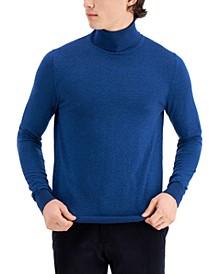 Men's Limited Edition Slim Fit Fine Gauge Turtleneck Sweater