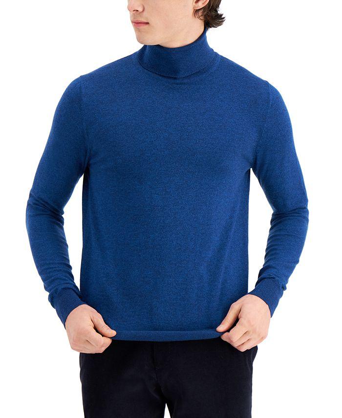 Paisley & Gray - Men's Limited Edition Slim Fit Fine Gauge Turtleneck Sweater