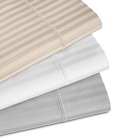 Sleep Luxe 1000 Thread Count Stripe, 4-PC Sheet Set, 100% Pima Cotton, Created for Macy's