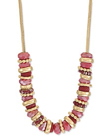 """Semi-Beaded Strand Necklace, 26"""" + 3"""" extender, Created for Macy's"""