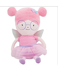 Baby Boys and Girls Meg Fairy Plush Doll with Dress and Wings