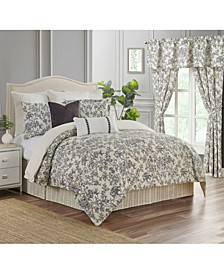 Aleah 4 Piece Queen Comforter Set