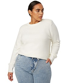 Trendy Plus Size Pullover Sweater, Created for Macy's