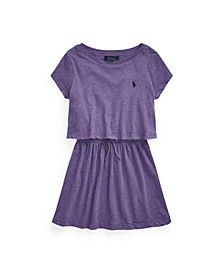 Toddler Girls Cotton Jersey Tee Dress