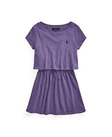 Little Girls Cotton Jersey Tee Dress