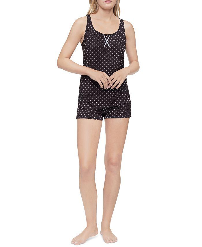 Calvin Klein - Racerback Tank & Shorts Pajama Set