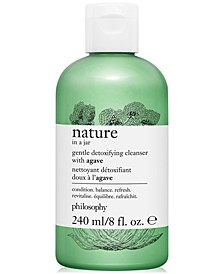 Nature In A Jar Gentle Detoxifying Cleanser With Agave, 8-oz.