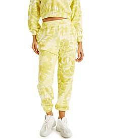 CULPOS X INC Tie-Dye Convertible Sweatpants, Created for Macy's