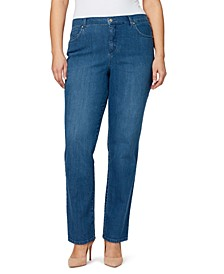 Women's Plus Amanda Average Length Jean