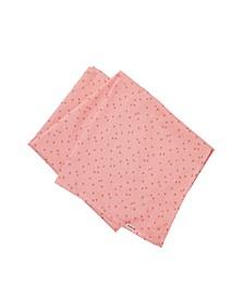 Baby Girl Organic Muslin Blanket