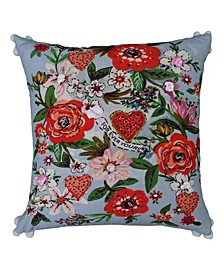 """18"""" L x 18"""" W Decorative Throw Pillow for Couch"""