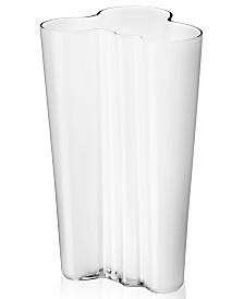 Iittala Aalto White Finlandia Vase