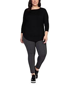 Plus Size Circle-Hem Sweater
