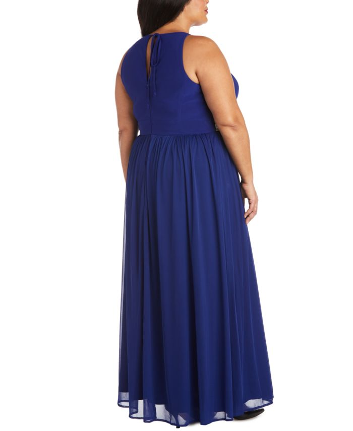 R & M Richards Plus Size Embellished Gown & Reviews - Dresses - Plus Sizes - Macy's