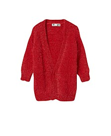 Big Girls Dakota Sparkle Cardigan