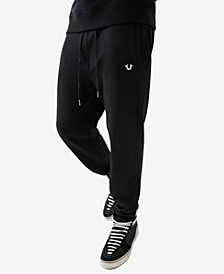 Men's Foil Horseshoe Jogger Sweatpants