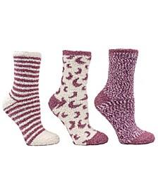 Women's Warm Cozy Aromatherapy Slipper Sock, 7 Piece
