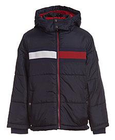 Tommy Hilfiger Little Boys Flag Puffer Jacket