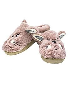 Women's Faux Fur Fuzzy Animal Slippers