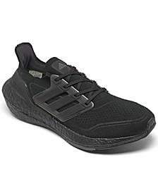 Men's UltraBOOST 21 Primeblue Running Sneakers from Finish Line