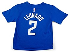 Toddler Los Angeles Clippers Replica Name and Number T-Shirt