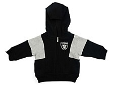 Las Vegas Raiders Infant All That Full Zip Hoodie