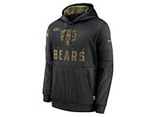 Men's Chicago Bears 2020 Salute to Service Therma Hoodie