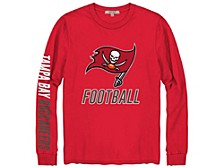 Tampa Bay Buccaneers Men's Zone Read Long Sleeve T-Shirt