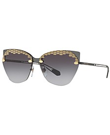 Sunglasses, BV6107 62